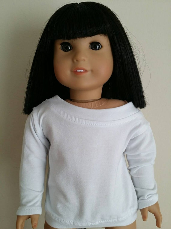 White Slouchy Sweater for American Girl and other 18 inch dolls