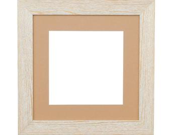 "Alaska Wood Frame 30x30 cm - Image size 20x20 cm (8"")"