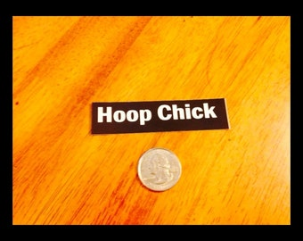 Hoop Chick Sticker - Great Hula Hoop Stickers - From Colorado Hula Hoops