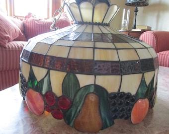 Tiffany Fruit Hanging Lamp