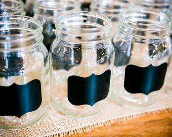 15 Mason Jar Chalkboard Labels