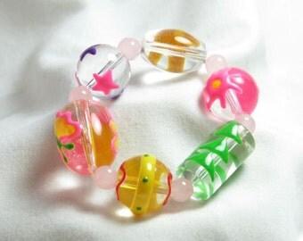 Spring Butterfly Bracelet