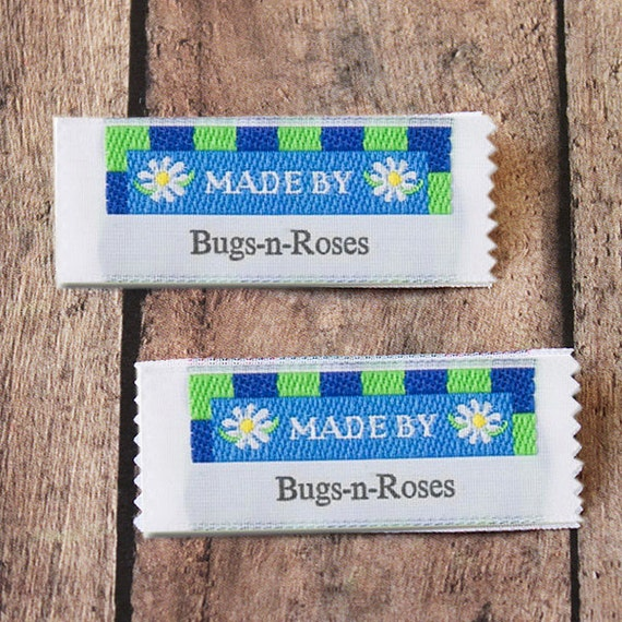Made By Woven Clothing Labels, Custom Labels, Vintage