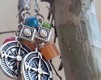 Follow Your Own Path with Color Earrings