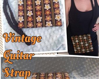 Vintage Guitar Strap Purse