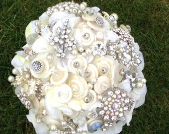 Romance Button Bouquet