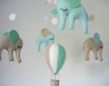 einzigartige artikel zum thema hei luftballon mobile etsy. Black Bedroom Furniture Sets. Home Design Ideas