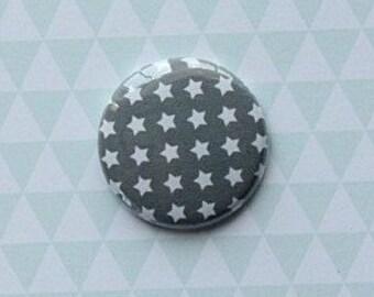 "Badge 1 ""grey stars"