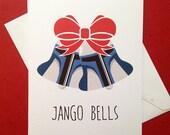 Jango Bells Christmas card