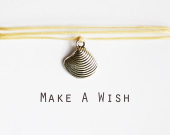 Make A Wish Shell Bracelet