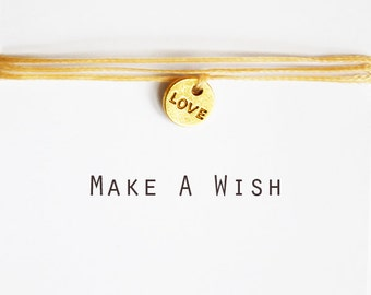 Make A Wish Love Bracelet