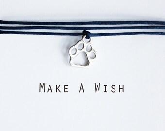 Make A Wish Paw Bracelet