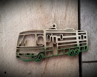 Vintage RV Christmas Ornament