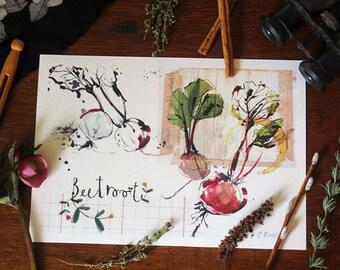 Beetroot Print