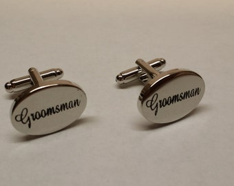 Close out sale - Groomsmen Cufflink