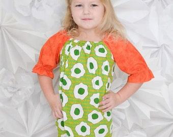 Green Eggs & Ham dress