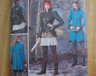 Simplicity 1299 Misses (Size R5 14,16,18,20,22) Hunger Games, Steam Punk, Haunt Couture Costumes