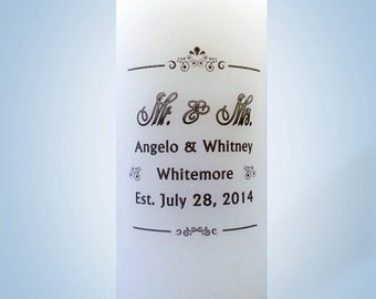 Anniversary / Wedding Candles
