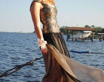 Last mark down! Runway sample prom/evening dress, been worn once, half original price