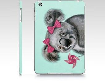 Koala iPad hard case, koala iPad Mini 1 case, koala iPad air 1 case, animal ipad case, kids ipad case, polycarbon ipad, designer ipad case