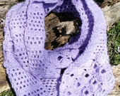 Forever Spring Infinity Scarf - Lilac
