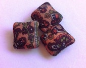 Miniature handmade cushions for 16th scale dolls house furniture