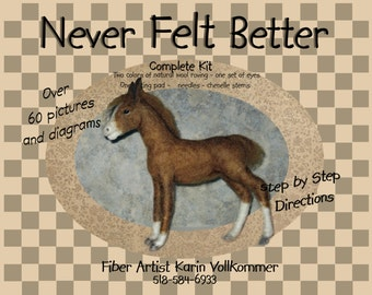 Foal Needle Felting Kit