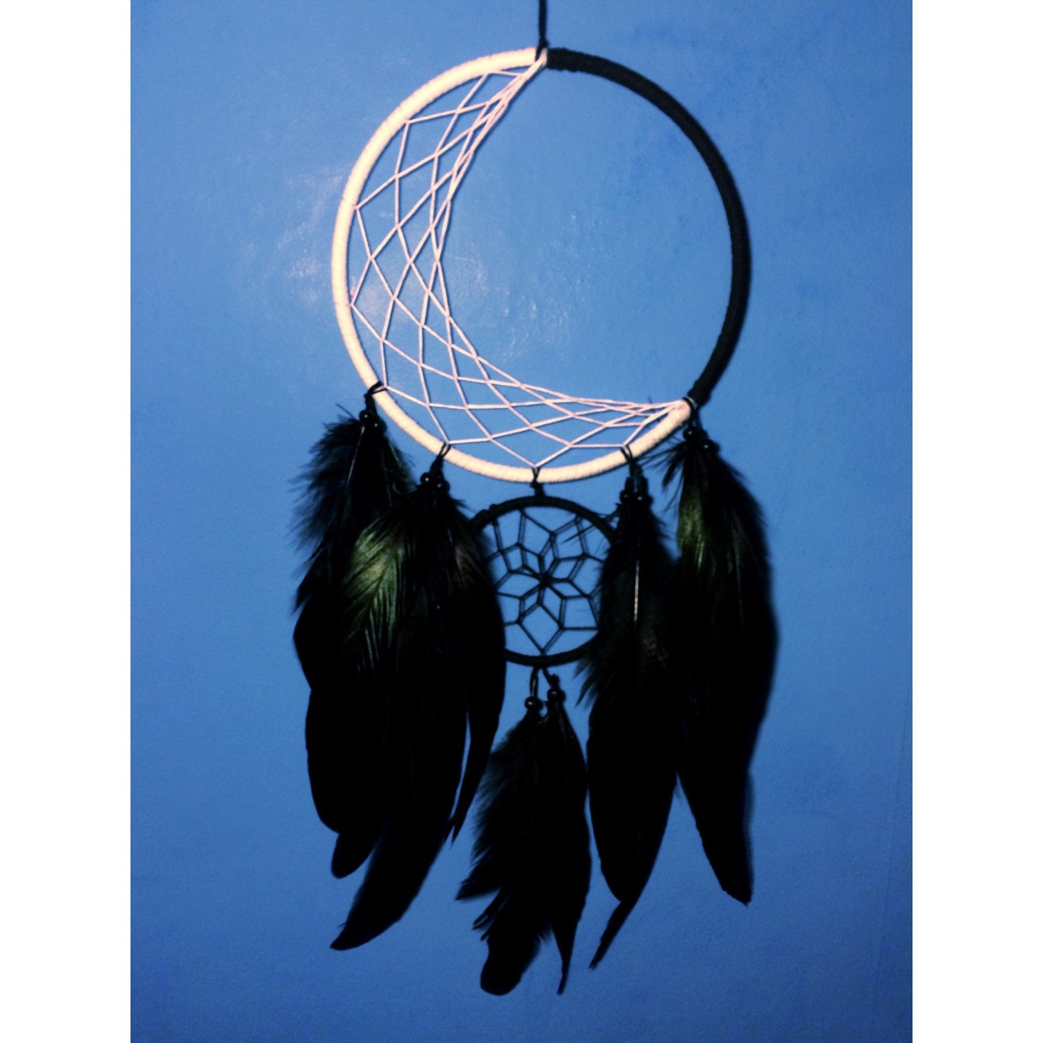 how to make double dream catchers