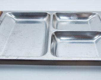 Danish Modern Nord-Steel Serving Dish