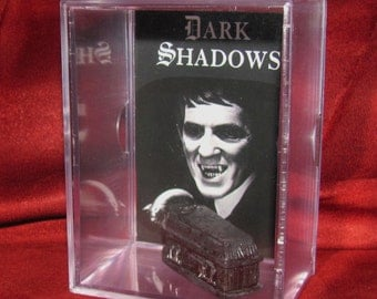 """Dark Shadows Coffin Collectible Display """"Barnabas Collins' We Combine Shippin on All our Stuff.."""