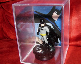 Batman Collectible Figure Display 'New' Great Collection Addition Home or Office(New)