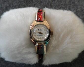 Paulina 17 Jewels Pretty Ladies Wind Up  Watch