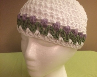 Tulip hat - spring summer cotton