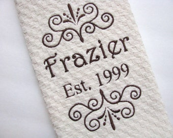 Personalized Kitchen Wedding Gifts