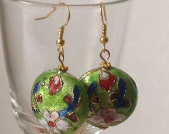 Flower Metal Earrings