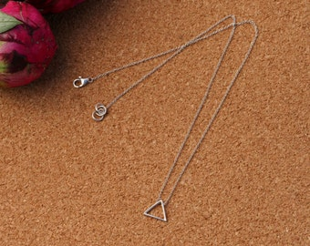Small Triangle Pendant