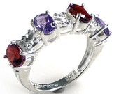 Gemstone Ring Natural Ame...