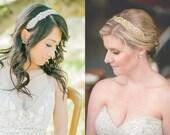 Austrian Crystal  Wedding Headpiece, Bridal, Rhinestone Headband - Nurene Headpiece