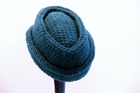 Mens Hat Crochet Pattern Chunky Yarn : Crochet Pattern Mens Cossack Hat Chunky in by MeadowvaleStudio