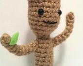 Dancing Baby Groot Amigurumi Pattern