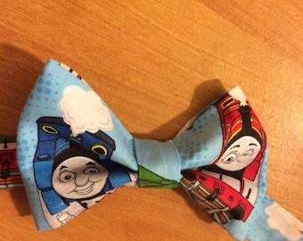 Thomas the train bow tie