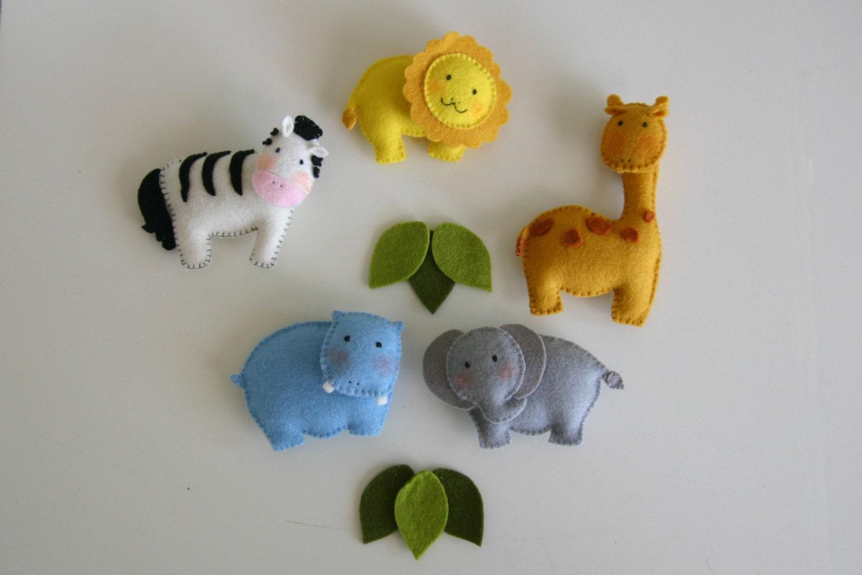 Felt Animal Ornament Patterns Pattern Felt Ornaments