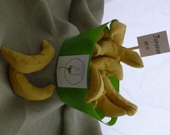 Banana catnip toys.