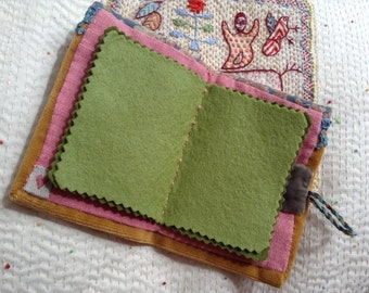 Hand-Stitched Needlecase