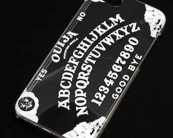 Ouija Board White Ink iPhone Case, Transparent, Phone Case Note 5, Galaxy S7, iPhone 5, Iphone 6, iPhone 7, Iphone 6 plus, iPhone 7 plus, SE