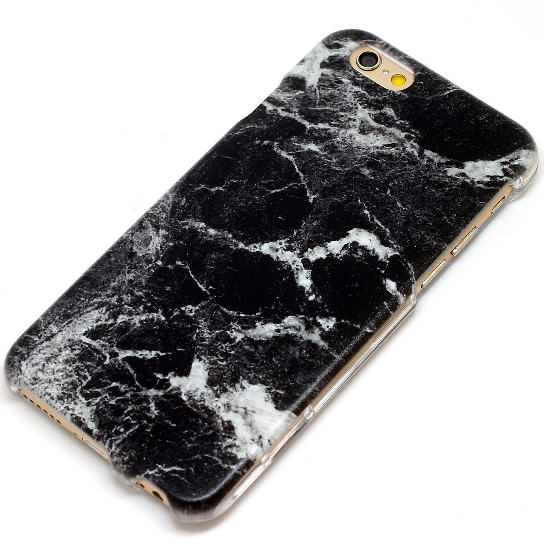Granite Slab Marble Black Stone Style Phone Case IPhone 6 7 SE Plus 6S 5 5C 5S Galaxy S6 S7 Note