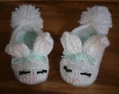 Bunny Slippers - Sizes Baby though Adult