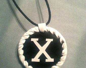 Malcolm X medallion handmade