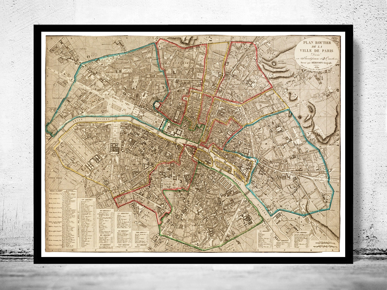 il_fullxfull.766095689_401c Old Map Of Paris To New on sites of paris, google maps of paris, old buildings in paris, diaries of paris, the streets of paris, scrapbook paper of paris, beautiful streets of paris, cute drawings of paris, old moulin rouge paris, mines of paris, a map of paris, books of paris, beauty of paris, fine art of paris, a woman of paris, black and white map of paris, liberation of paris, view of paris, large map of paris,