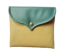 IPAD mini sleeve ocher-green